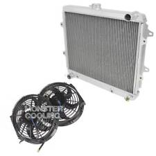 "1984-1991 Toyota 4 Runner Radiator & 10"" Fans, 2 Row Champion Radiator, 2.4L L4"
