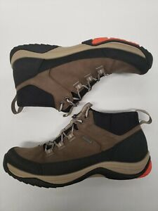 Clarks Men's Baystone  Leather  Boots Goretex Cushion +Size 8.5 Brown