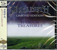 MEGADETH-HIDDEN TREASURES-JAPAN  SHM-CD D50