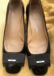 Salvatore Ferragamo Ladies Shoes Size UK5 Black