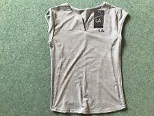 BNWT Ladies LA Fitness Top Grey Size 16