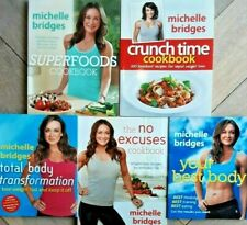 Michelle Bridges X5..SUPERFOODS /  BEST BODY / TRANSFORMATION / NO EXCUSES..VGC