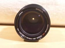 Minolta Maxxum AF 35-105mm F3.5-4.5 Macro Autofocus Sony A Alpha Lens