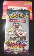 1 Pokemon Probepack Booster Pack *Sonne & Mond Stunde der Wächter*deutsch => NEU