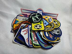 Lot Of 30 Mixed Sports Teams Baseball Football Soccer Bowling Olympics Patches