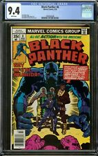BLACK PANTHER #8 (1978) CGC 9.4 WHITE PAGES NM