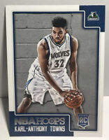2015 Panini NBA Hoops Karl-Anthony Towns #289 Rookie RC Minnesota Timberwolves