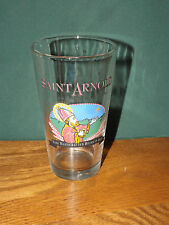SAINT ARNOLD, PATRON SAINT OF BREWERS, PINT SIZE BEER GLASS, HOUSTON, TEXAS