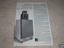 KEF Reference 105 II Speaker Ad,article,Amazing Ad!