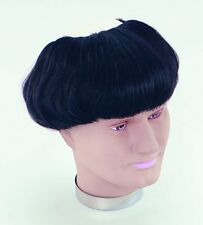 Medieval Monk Friar Tuck Brown Wig Fancy Dress Costume Accessory