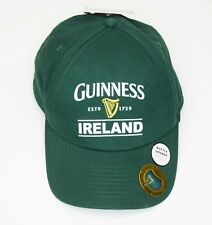 Guinness Ireland 1759 Official Strapback Hat w Bottle Opener New with Tags