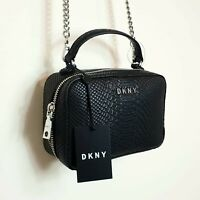 DKNY NEW ASHLEE NORTH SOUTH EMBOSSED CROSSBODY CLUTCH BAG
