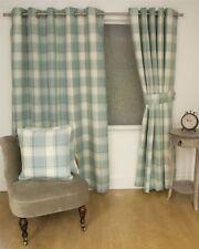 Rideaux et cantonnières beige en polyester pour la maison