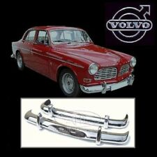 ON SALE- Volvo Amazon Coupe Sedan Euro stainless steel bumpers