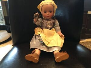 "Madame Alexander 14"" Hard Plastic Doll"