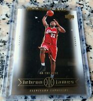 LEBRON JAMES 2003 Upper Deck SP #1 Draft Pick Rookie Card RC MVP Lakers $ HOT $$