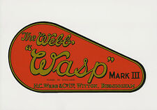 Webb Wasp Vintage Mower Chain Cover Decal