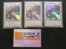 LOTTO 3 CARTE ACCEL SYNCHRON tutte in italiano ORIGINALI YU-GI-OH! ULTRA RARA