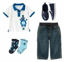 Size 2T, Gymboree SPACE VOYAGER Outfit, Top, Jeans, Socks & Shoes, NWT