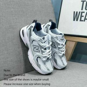 New Balance 530 Men's Women's Classic Suede Shoes Textile Retro White Trainers