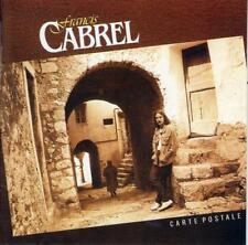 CD audio.../...FRANCIS CABREL.../...CARTE POSTALE.../......