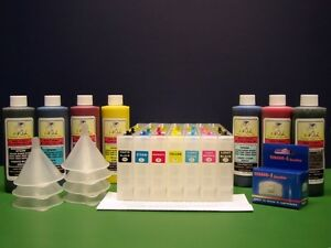 250ml InkOwl Ink Refill System for EPSON Stylus Pro 7600 9600