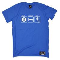 Skiing Ski T-Shirt Funny Novelty Mens tee TShirt - Ski Eat Sleep Ski