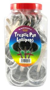 TREACLE PAN LOLLPOPS X 50 - HALLOWEEN BONFIRE NIGHT TREACLE BRITTLE