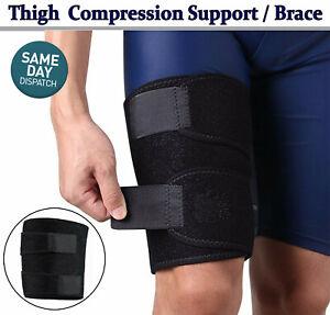 Hamstring Thigh Support Wrap Brace Hip Leg Quad Compression Strain Bandage