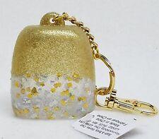 Bath Body Works GOLD CONFETTI GLITTER Pocketbac Holder Clip Case Sanitizer