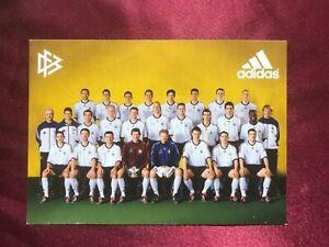 Mannschaftskarte DEUTSCHE NATIONALMANNSCHAFT-DFB 2002-Foto: Sauter-adidas-AK