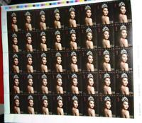 2019 PHILIPPINES Miss Universe Catriona Gray whole sheet 40 value  STAMPS mnh