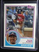 2018 Topps Series 2 #83-16 Ozzie Albies Braves RC 1983 35th Anniversary Card