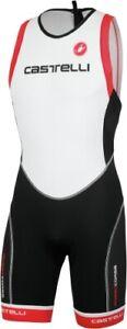 Castelli Men's Sleeveless Free ITU Tri Distance Suit Size Large ONE WEEK SALE
