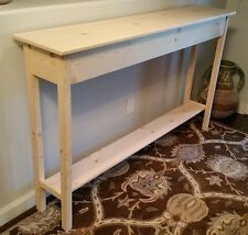 pine console table. 60\ Pine Console Table R