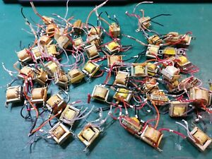 Transistor Base Signal Isolation Transformer Joblot , Military Parts