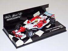 1/43 Minichamps F1 Formula 1 Toyota TF107 Panasonic R.Schumacher 2007