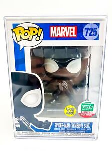 Marvel Spider-Man (Symbiote Suit) LE Funko Pop Bobble-Head 725 with Protector