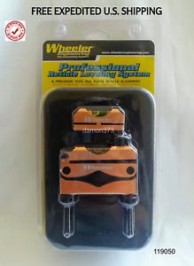 WHEELER RETICLE Leveling System Heavy-Duty Construction Universal & STORAGE CASE