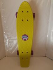 Fizz Board The Original Skateboard -Liquid Lime- Used*See Pics*