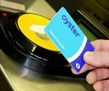 London Travel Oyster Card For Buses Subway Metro Pass & Free £6 Travel Credit