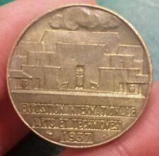 Médaille Exposition Internationale Arts et Techniques 1937 -  LA CERAMIQUE - Sup