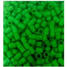 Green (Nitrogen) Plastic Valve Stem Caps  - 1,000 qty., Free US Shipping!