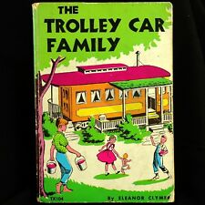 Trolley Car Family Scholastic Edition 1975 Eleanor Clymer Good Condition