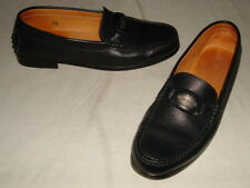 TOD'S BLACK LEATHER DRIVING SLIP-ON LOAFERS WOMENS SZ 5.5