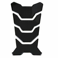 Gas Fuel Oil Tank Cover Pad Sticker Protector Carbon Fiber Motorcycle Scooter