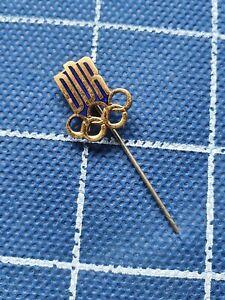 Enamel pin badge ansteckandel DDR East Germany NOC National Olympic Committee