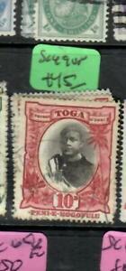 TONGA  (P1904B)  10D  SG 49       VFU