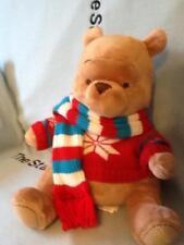"DISNEY STORE WINNIE THE POOH BEAR 2008 MY FRIENDS TIGGER & POOH PLUSH TOY 13""EUC"