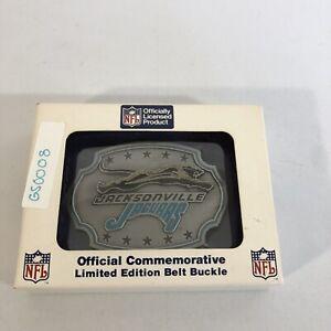 Siskiyou 1994 NFL Jaguars Football Belt Buckle 737-10,000
